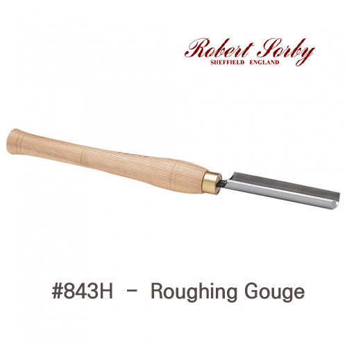[Robert Sorby]  roughing gouge   러핑가우지